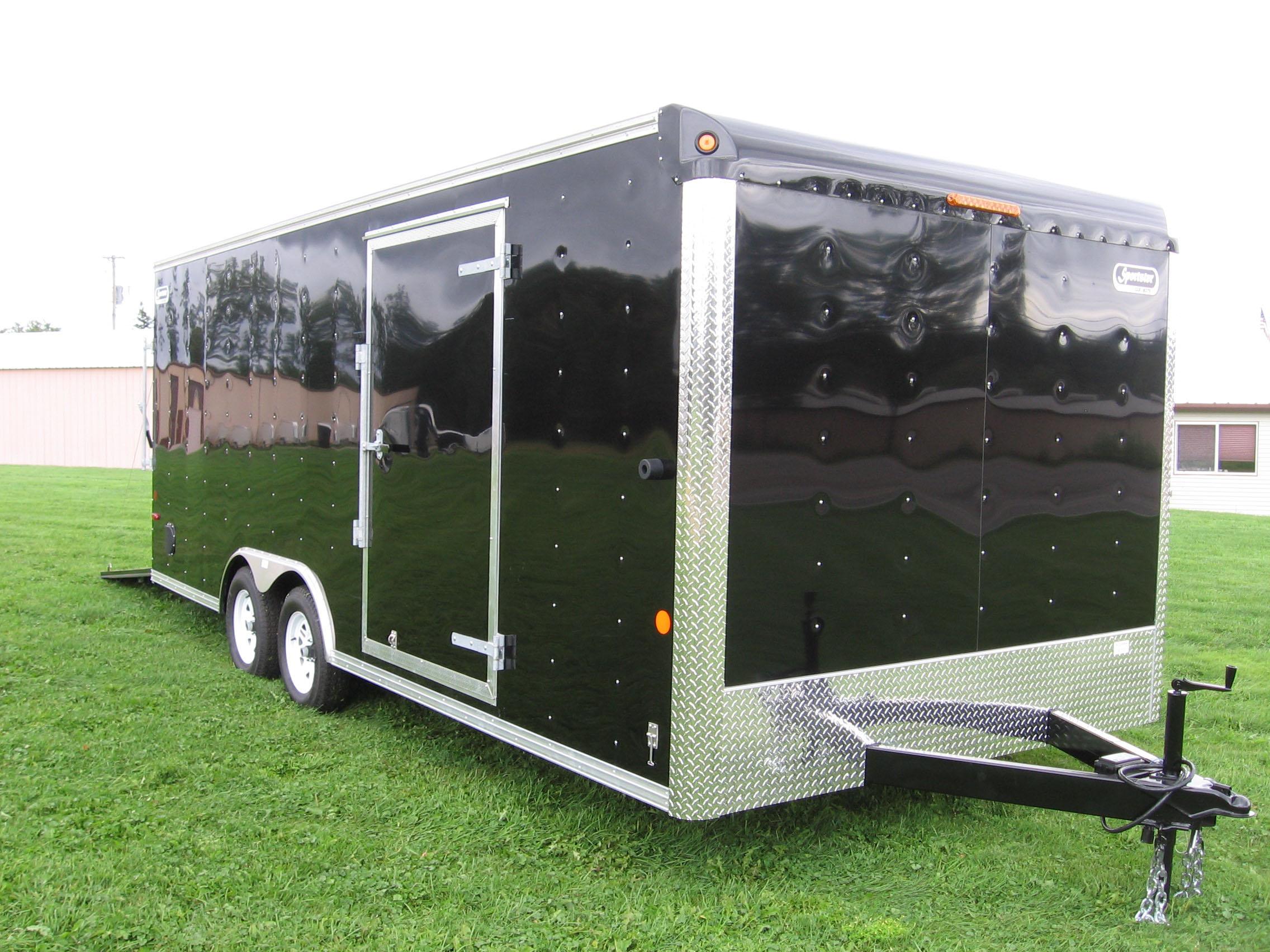 8 5 X 24 Hd Sport Sportster Enclosed Car Hauler Trailer By Car