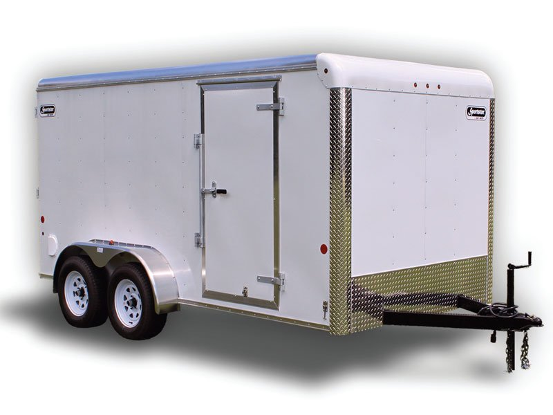 7′ X 16′ HD Sportster Enclosed Cargo Trailer by Car Mate - Ron\'s Toy ...