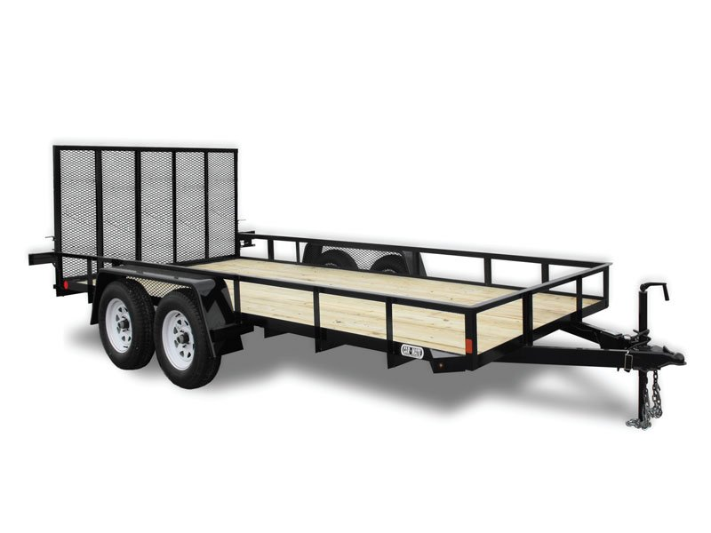 6 x 16 car mate angle iron hd trailer 80 wide ron s toy shop