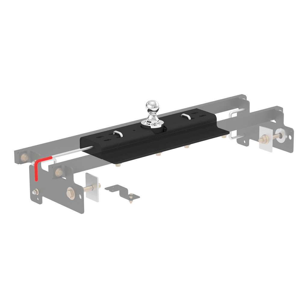 Curt Double Lock Gooseneck Hitch 60615 Rons Toy Shop Trailer Wiring For Gm 34488 27590