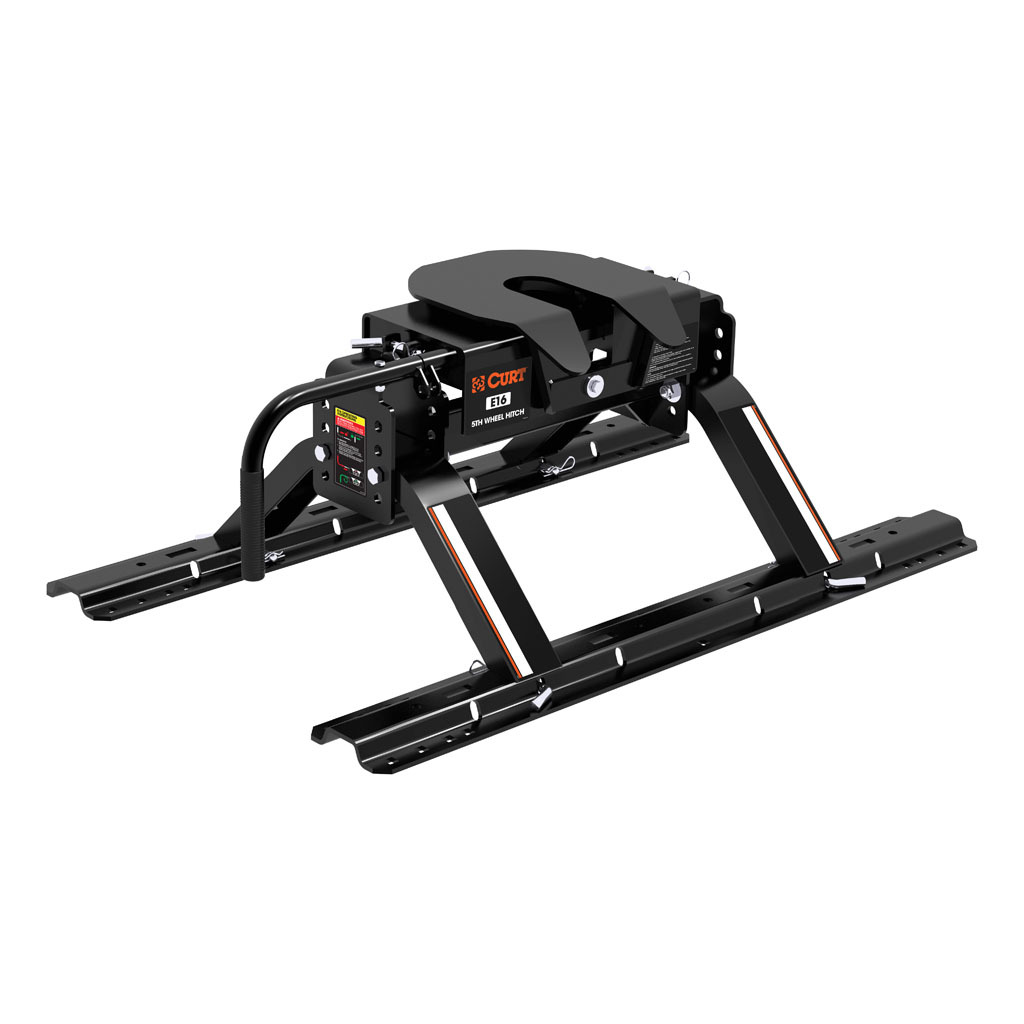 Curt Fifth Wheel Hitch >> Curt E16 5th Wheel Hitch With Rails 16116