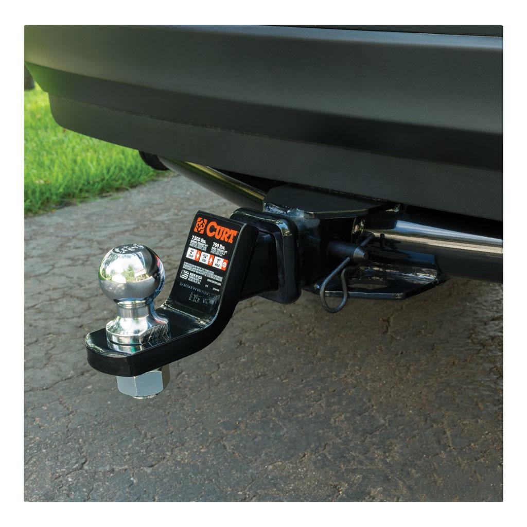 CURT 21579 Trailer Hitch Pin /& Clip Black Fits 2-Inch Receiver 5//8-Inch Pin Diameter