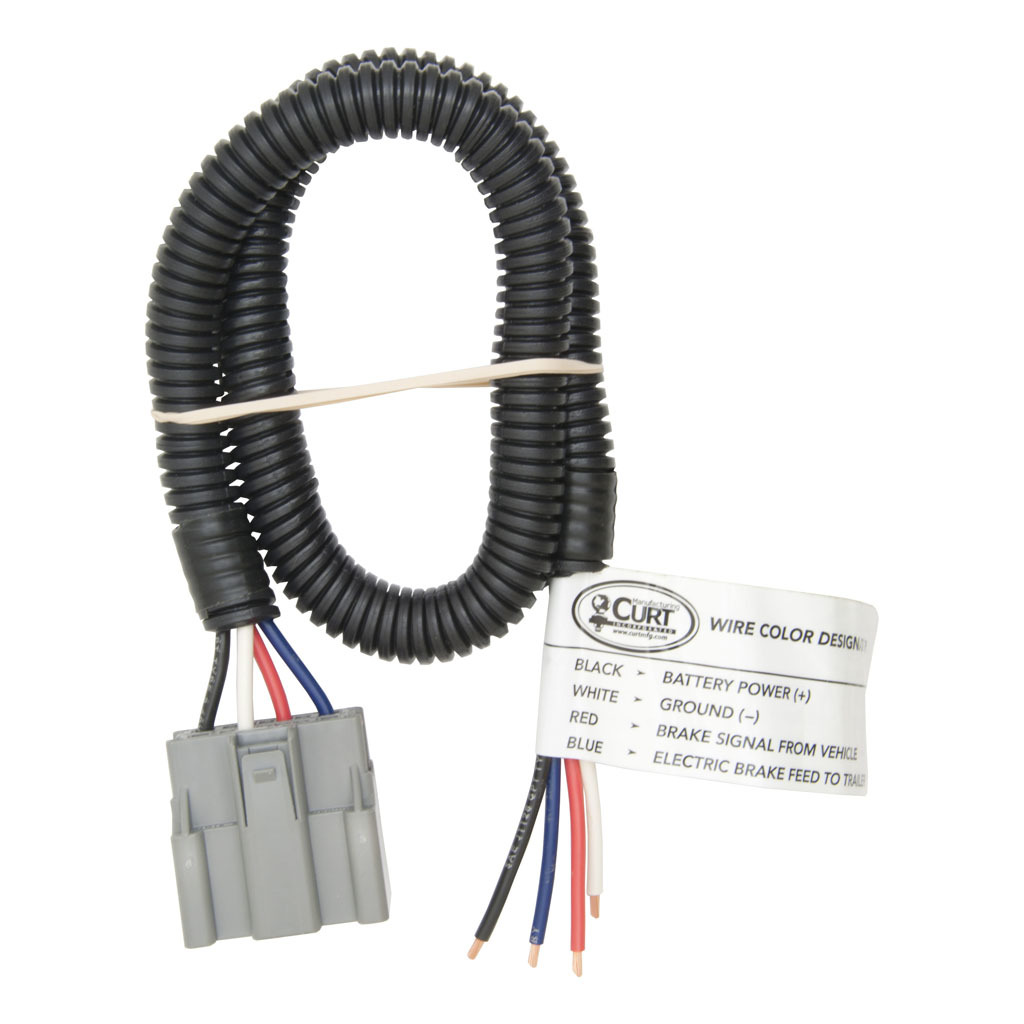 Curt Brake Control Harness With Pigtails 51435 Rons Toy Shop 2006 F350 Alternator Wiring Diagram 1870 1496