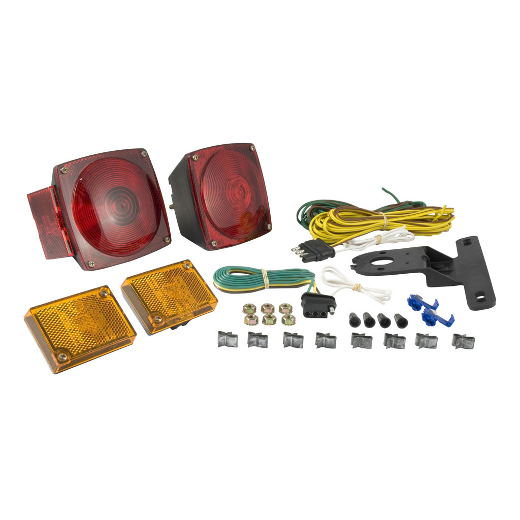 curt trailer light kit 53540 ron s toy shop rh ronstoyshop com Wiring Harness Terminals and Connectors trailer wiring harness mounting bracket