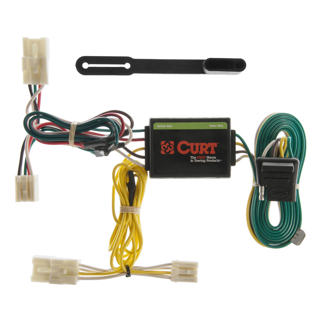 Rav4 Trailer Wiring Harness Library Curt Tconnector Vehicle With 4pole Flat 6258 5006 Custom