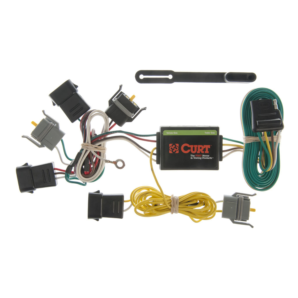 CURT Custom Wiring Harness #55343 | Ron's Toy Shop on wire alligator clips electrical, electronic circuit components, torque converter components, speaker components,