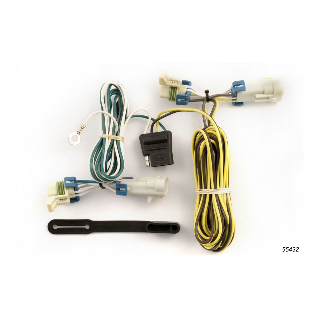 Curt Custom Wiring Harness 55432 Rons Toy Shop Tconnector Vehicle With 4 Pole Trailer Connector 3693 2954