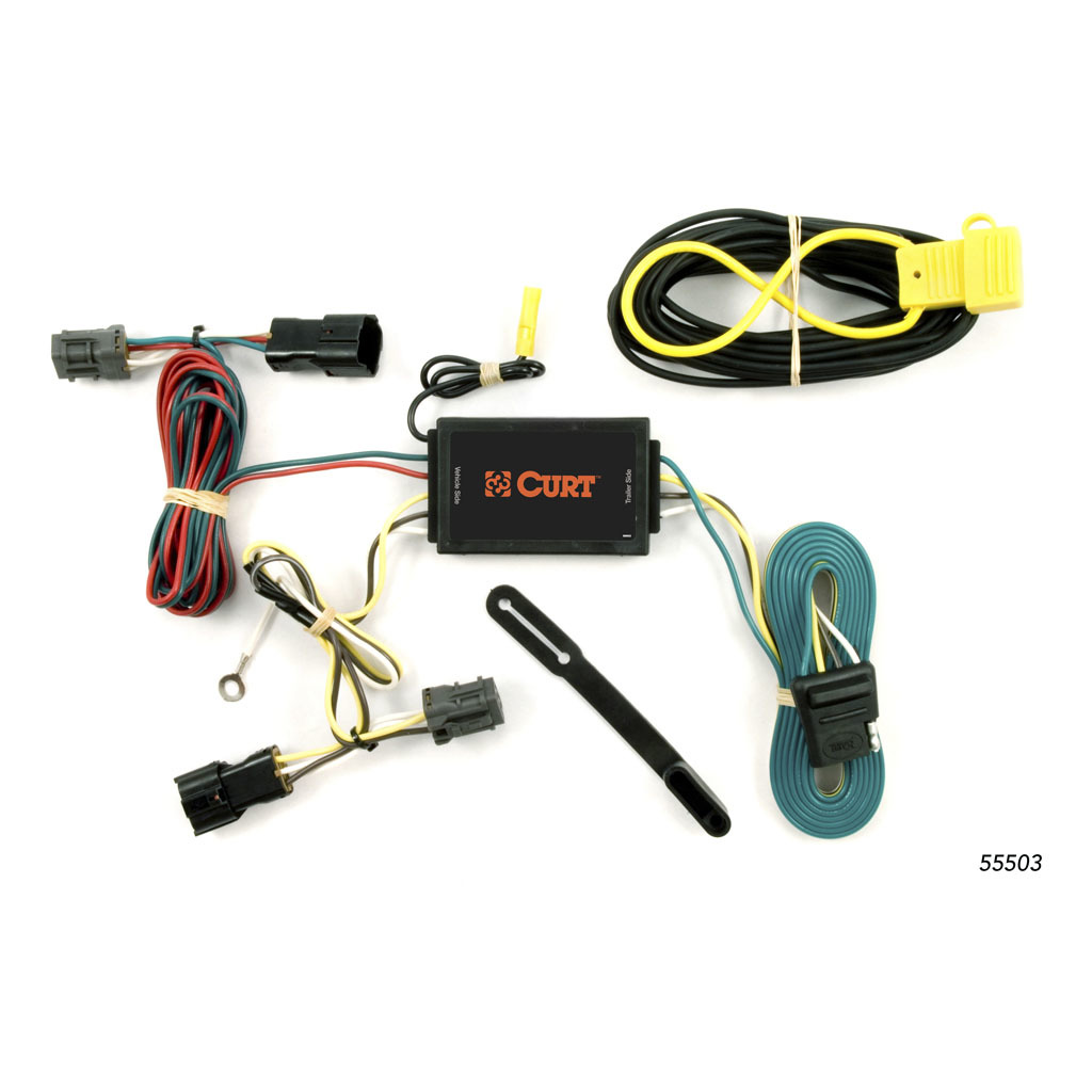 Curt Custom Wiring Harness 55503 Rons Toy Shop Tconnector Vehicle With 4pole Flat Trailer 10676 8541