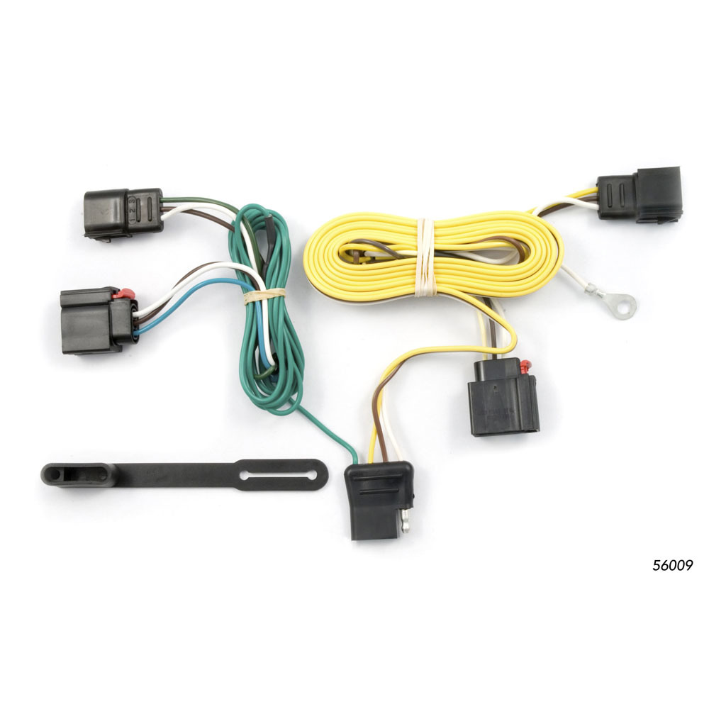 CURT Custom Wiring Harness (4-Way Flat Output) #56009 on jeep patriot hitch kit, jeep grand cherokee trailer wiring harness, jeep wrangler trailer wiring harness, jeep patriot trailer wiring kits,