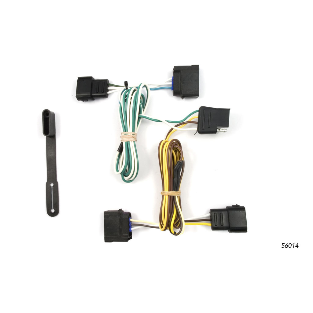 Ford Focus Trailer Plug Wiring Library 2007 Silverado Brake Harness 4786 3829 Curt Custom