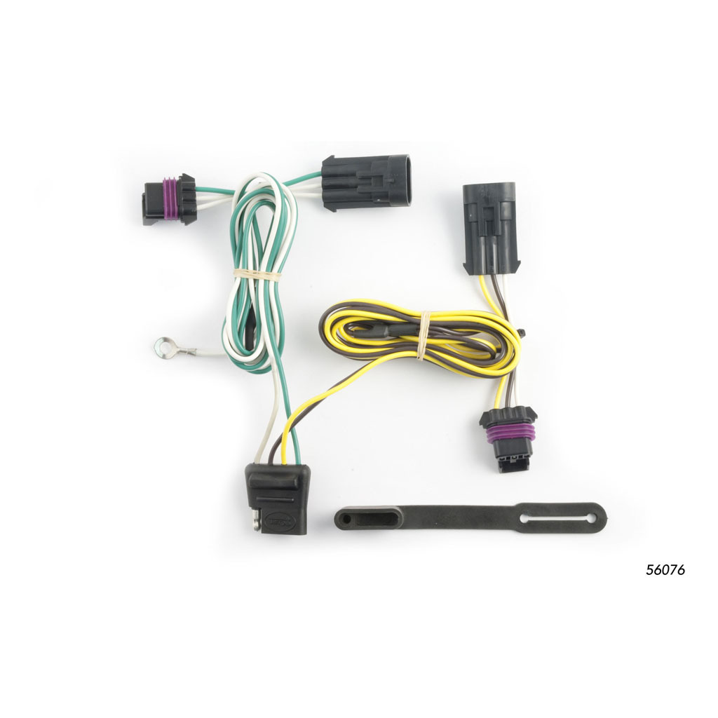Harnesses Gt Curt Custom Vehicletotrailer Wiring Harness Extension Wire 56076 Rons Toy Shop
