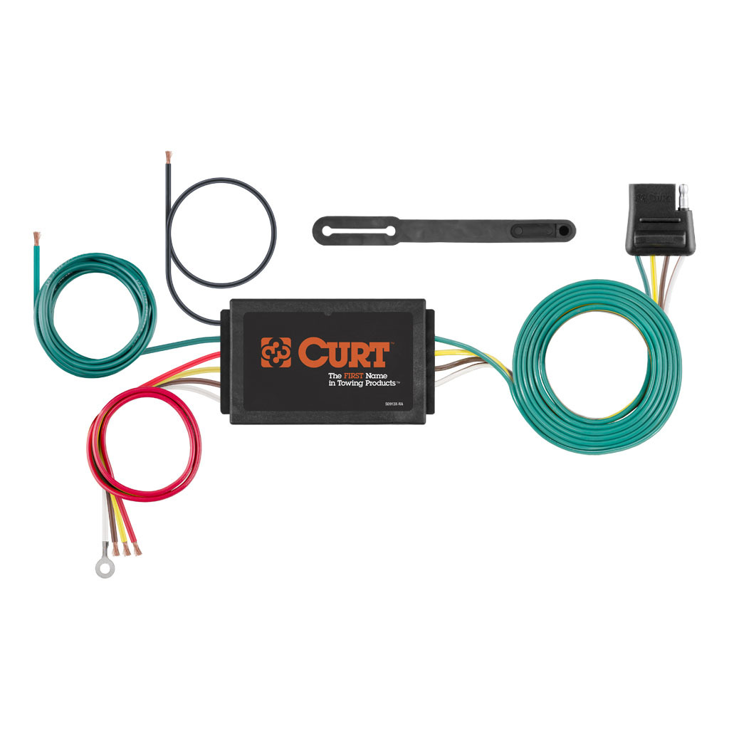 Curt Powered 3 To 2 Wire Taillight Converter 56146 Rons Toy Shop Toyota Camry Tow Bar Wiring 4296 3437