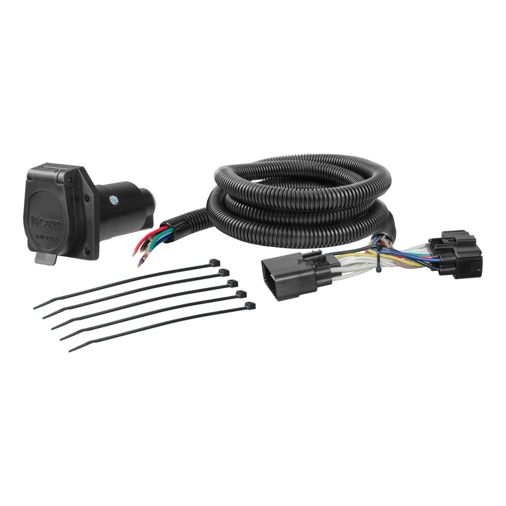 curt custom wiring harness 56306 Vehicle Specific Trailer Wiring Harness