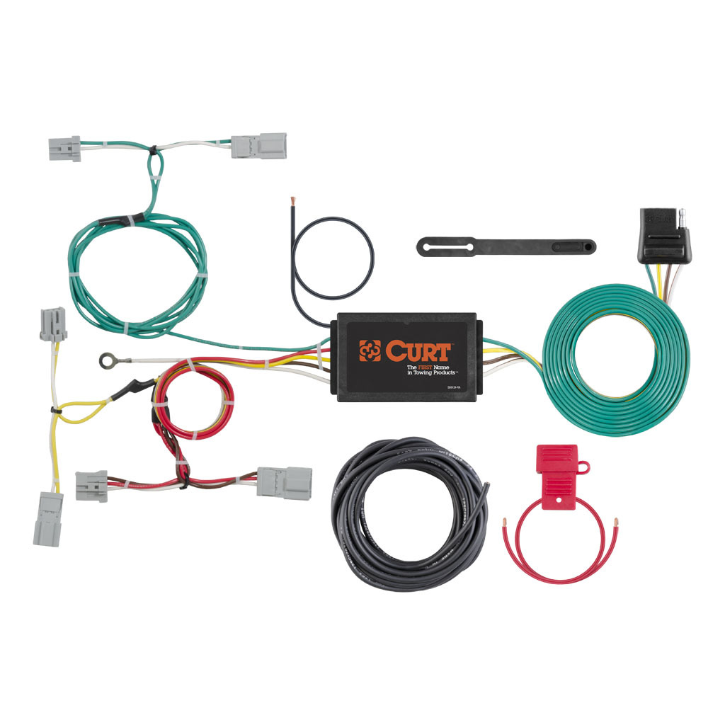 Wire Harness Installation Tool Wiring Library Curt Tconnector Vehicle With 4pole Flat Trailer 8584 6867