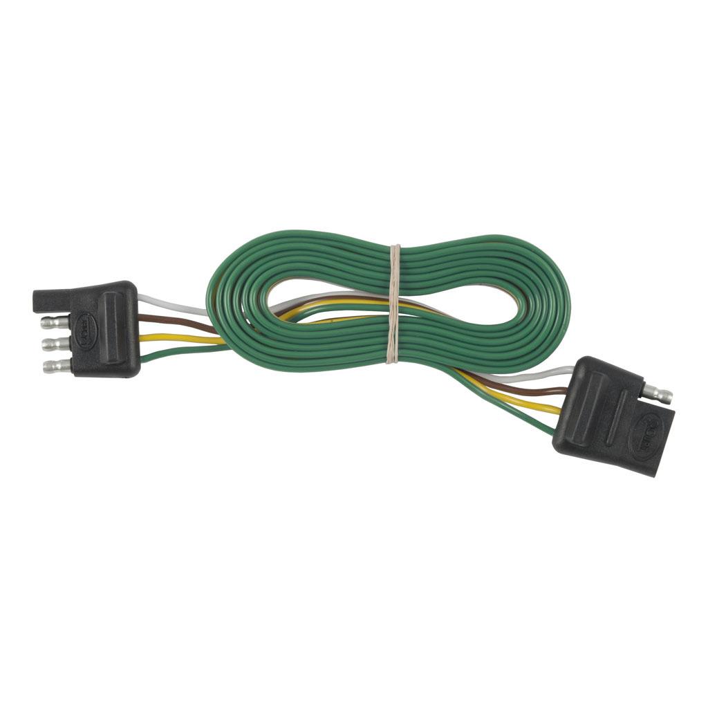 Curt 4 Way Flat Connector Plug Socket 58050 Rons Toy Shop Wiring A Car Trailer 879 703