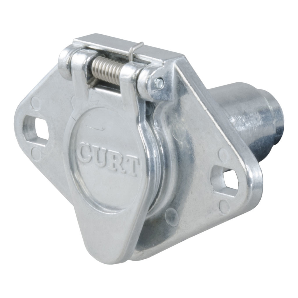 CURT 4-Way Round Connector Socket #58070 - Ron\'s Toy Shop