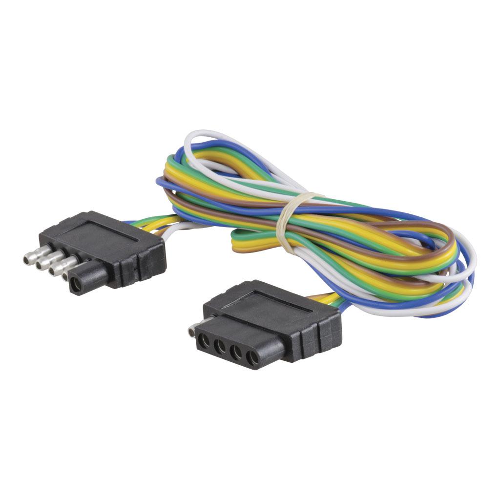 CURT 5-Way Flat Connector Plug & Socket #58551 - Ron\'s Toy Shop