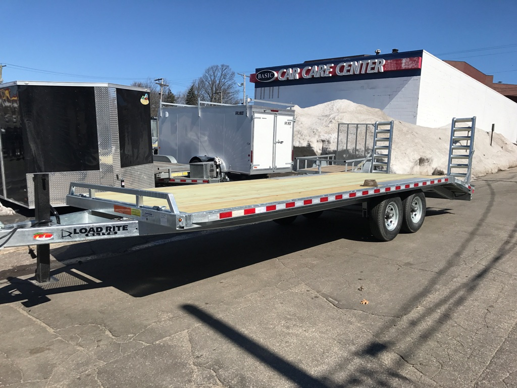 Ez Credit Auto Sales >> Load Rite 101″x24′ Galvanized Deckover Equipment Trailer 14k - Ron's Toy Shop