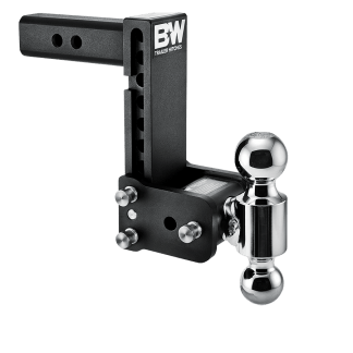 b&w adjustable hitch